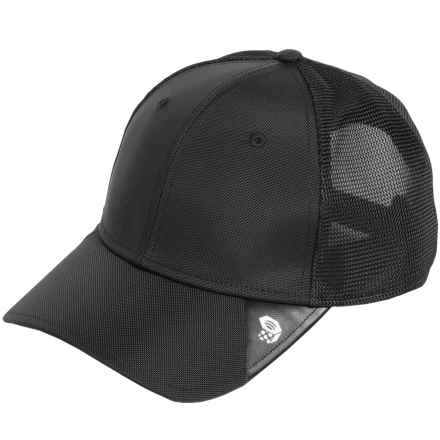 Mountain Hardwear Ballistic Baseball Cap (For Men and Women) in Black - Closeouts