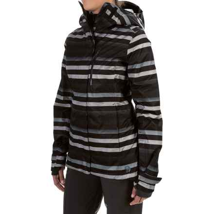 Mountain Hardwear Barnsie Ski Jacket - Waterproof, Insulated (For Women) in Black - Closeouts