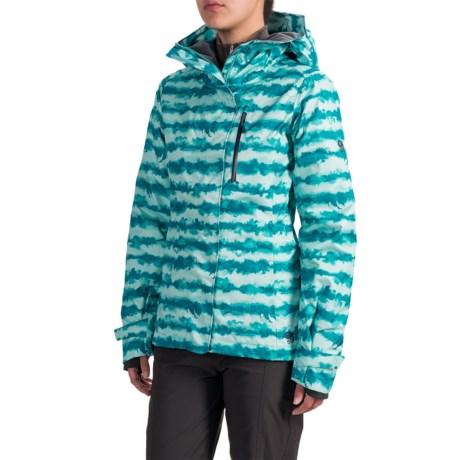 Mountain Hardwear Barnsie Ski Jacket - Waterproof, Insulated (For Women) in Dynasty