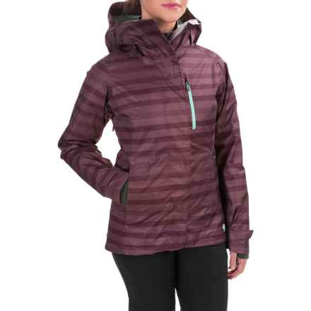 Mountain Hardwear Barnsie Ski Jacket - Waterproof, Insulated (For Women) in Marionberry - Closeouts