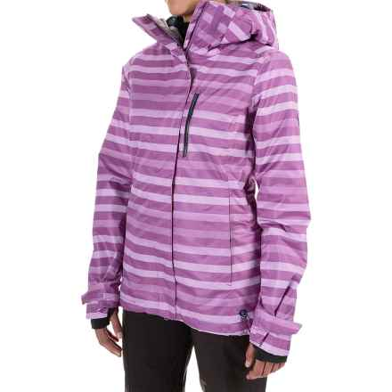 Mountain Hardwear Barnsie Ski Jacket - Waterproof, Insulated (For Women) in Northern Lights - Closeouts