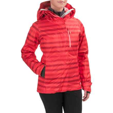 Mountain Hardwear Barnsie Ski Jacket - Waterproof, Insulated (For Women) in Scarlet Red - Closeouts