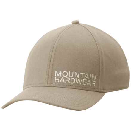 Mountain Hardwear Baseball Cap - Elastic Brim (For Men and Women) in Fossil - Closeouts
