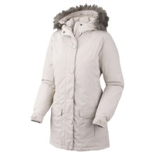 Mountain Hardwear Bay Village Dry.Q Core Down Coat - Waterproof, 650 Fill Power (For Women) in Dolomite - Closeouts