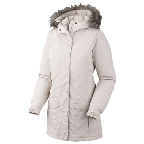 Mountain Hardwear Bay Village Dry.Q Core Down Coat - Waterproof, 650 Fill Power (For Women) in Dolomite