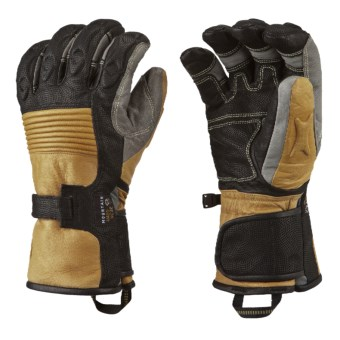 Mountain Hardwear Bazuka Gloves - Waterproof, Insulated (For Men) in 010 Black