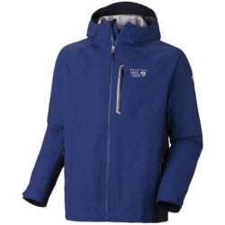 Mountain Hardwear Beacon Dry.Q Elite Jacket - Waterproof (For Men) in Pine Tree/Kelly