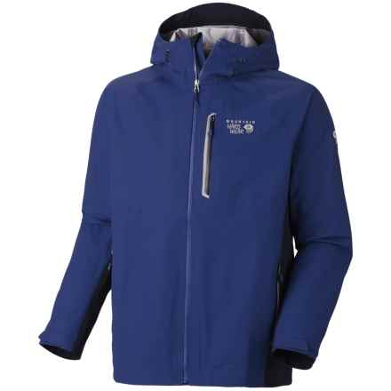 Mountain Hardwear Beacon Dry.Q® Elite Jacket - Waterproof (For Men) in Royal/Collegiate Navy - Closeouts