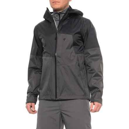 cb5444463 Mountain Hardwear Black-Void Exponent 2 Rain Jacket - Waterproof (For Men)  in
