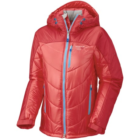 Mountain Hardwear B'Lady Jacket - Insulated (For Women) in Dragonfly/Oxide Blue