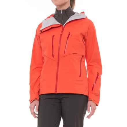 Mountain Hardwear BoundarySeeker Jacket - Waterproof, RECCO® (For Women) in Bright Ember - Closeouts