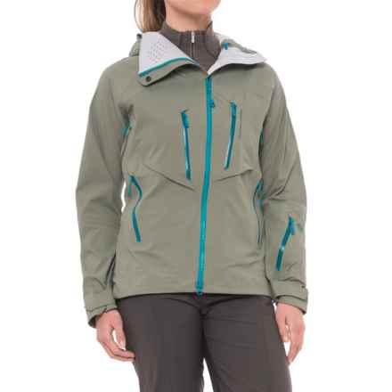 Mountain Hardwear BoundarySeeker Jacket - Waterproof, RECCO® (For Women) in Green Fade - Closeouts