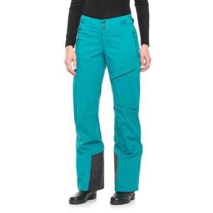 Mountain Hardwear BoundarySeeker Ski Pants - Waterproof (For Women) in Sea Level - Closeouts