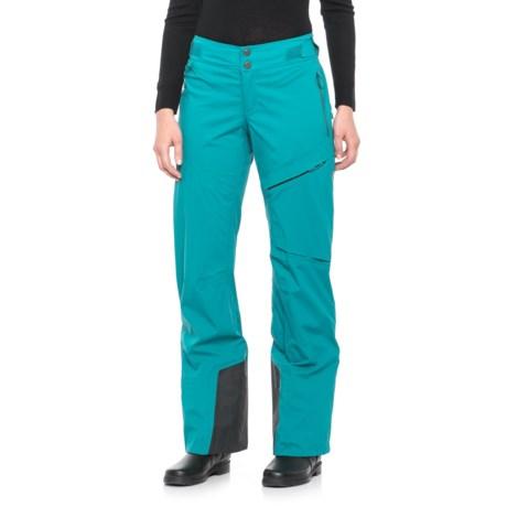 Mountain Hardwear BoundarySeeker Ski Pants For Women Interesting Patterned Ski Pants