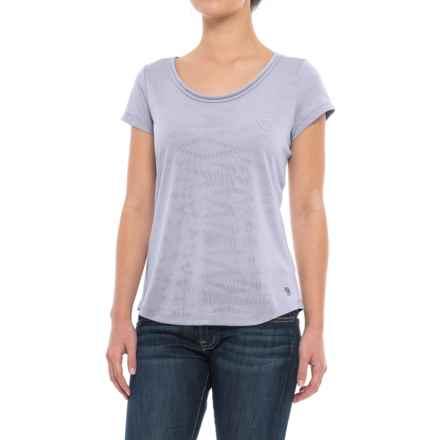 Mountain Hardwear Breeze AC Shirt - Short Sleeve (For Women) in Atmosfear - Closeouts