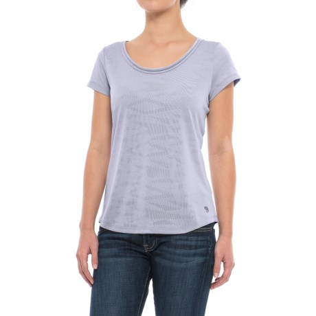 Mountain Hardwear Breeze AC Shirt - Short Sleeve (For Women) in Atmosfear
