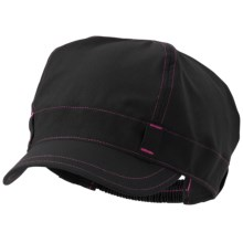 Mountain Hardwear Brigade Cap - Nylon (For Women) in Black - Closeouts