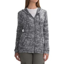 Mountain Hardwear Burned Out Hoodie - Zip Front (For Women) in Graphite - Closeouts