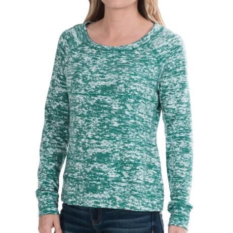 Mountain Hardwear Burned Out Stripe L/S Top