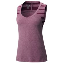 Mountain Hardwear Burnout Tank Top - UPF 25 (For Women) in Dark Raspberry - Closeouts