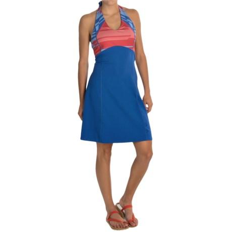 Mountain Hardwear Butter Halter Dress UPF 50, Sleeveless (For Women)
