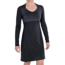 Mountain Hardwear Butter Jersey Dress - Long Sleeve (For Women) in Black - Closeouts