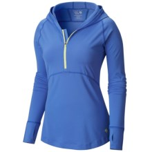 Mountain Hardwear Butterlicious Hoodie (For Women) in Bright Bluet - Closeouts