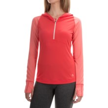 Mountain Hardwear Butterlicious Hoodie (For Women) in Red Hibiscus/Paradise Pink - Closeouts