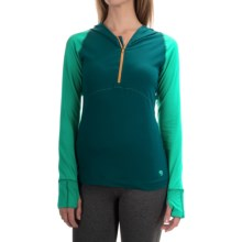 Mountain Hardwear Butterlicious Hoodie (For Women) in River Rock Gree - Closeouts