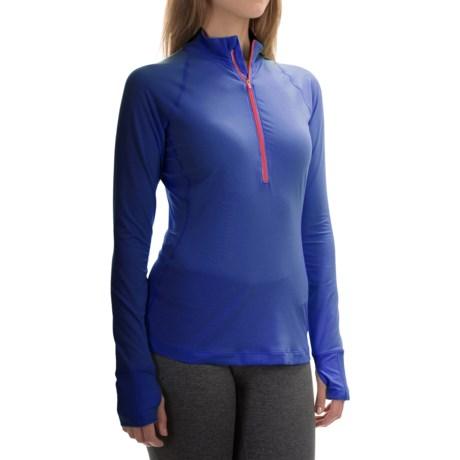 Mountain Hardwear Butterlicious Pullover Shirt - Zip Neck, Long Sleeve (For Women)