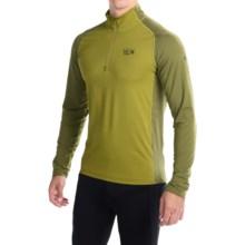 Mountain Hardwear Butterman Shirt - UPF 50, Zip Neck, Long Sleeve (For Men) in Elm - Closeouts