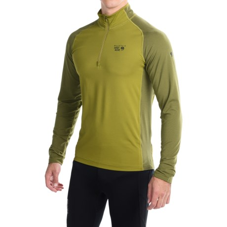 Mountain Hardwear Butterman Shirt UPF 50, Zip Neck, Long Sleeve (For Men)