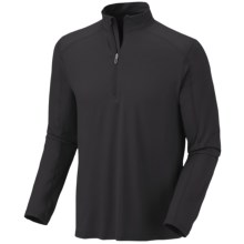 Mountain Hardwear Butterman Shirt - UPF 50, Zip Neck, Long Sleeve (For Men) in Shark - Closeouts
