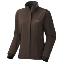 Mountain Hardwear Callisto Jacket - Soft Shell (For Women) in Bark - Closeouts