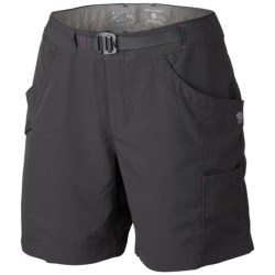 Mountain Hardwear Campina Shorts - UPF 50 (For Women) in Stone Green