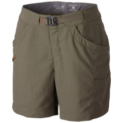 Mountain Hardwear Campina Shorts - UPF 50 (For Women) in Shark