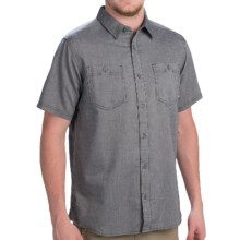Mountain Hardwear Candler Shirt - Short Sleeve (For Men) in Shark - Closeouts