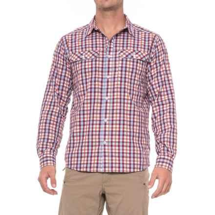 Mountain Hardwear Canyon AC Shirt - Long Sleeve (For Men) in Cote Du Rhone - Closeouts