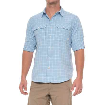 Mountain Hardwear Canyon AC Shirt - Long Sleeve (For Men) in Grey Goose - Closeouts