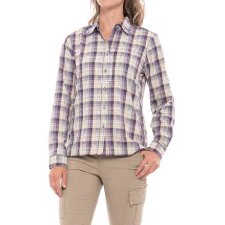 Mountain Hardwear Canyon AC Shirt - Long Sleeve (For Women) in Blurple - Closeouts