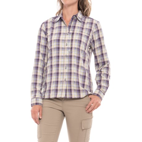 Mountain Hardwear Canyon AC Shirt - Long Sleeve (For Women) in Blurple