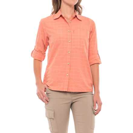 Mountain Hardwear Canyon AC Shirt - Long Sleeve (For Women) in Caliente - Closeouts