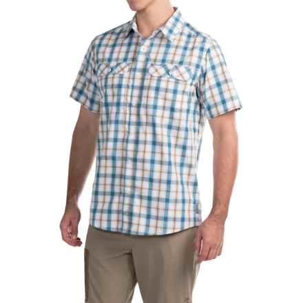 Mountain Hardwear Canyon Shirt - Button Front, Short Sleeve (For Men) in White - Closeouts