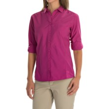 Mountain Hardwear Canyon Shirt - UPF 30, Long Sleeve (For Women) in Deep Blush - Closeouts