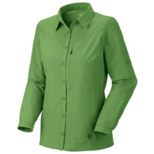 Mountain Hardwear Canyon Shirt - UPF 30, Long Sleeve  (For Women) in Palm - Closeouts