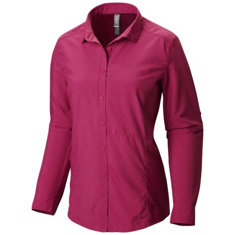 photo: Mountain Hardwear Women's Canyon Shirt Long Sleeve
