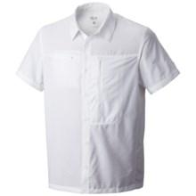 Mountain Hardwear Canyon Shirt - UPF 30, Short Sleeve (For Men) in White - Closeouts