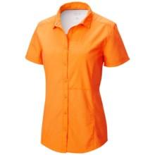 Mountain Hardwear Canyon Shirt - UPF 30, Short Sleeve (For Women) in Koi - Closeouts