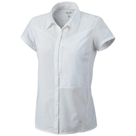 Mountain Hardwear Canyon Shirt - UPF 30, Short Sleeve (For Women) in White