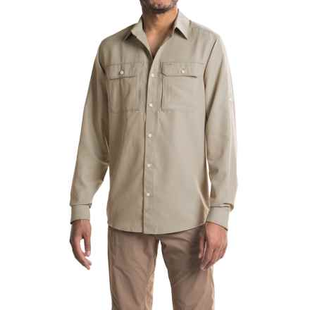 Mountain Hardwear Canyon Shirt - UPF 50, Long Sleeve (For Men) in Saddle - Closeouts